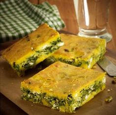 Spinach Pie, Cooking Recipes, Healthy Recipes, Spanakopita, Greek Recipes, Sweet Tooth, Food And Drink, Yummy Food, Tasty