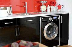Máquina de lavar roupas na cozinha ou no banheiro - BBel :: Tudo sobre decoração e organização da sua casa
