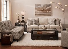 Anastasia Transitional Living Room Collection | Design Tips & Ideas | Raymour and Flanigan Furniture