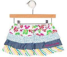 Agatha Ruiz De La Prada Girls' Ruffle Mini Skirt