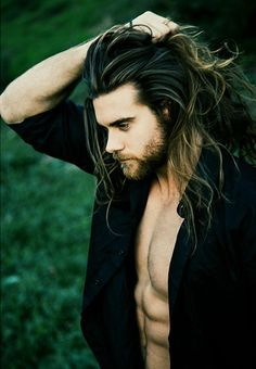 Brock O'Hurn - He's so f*ckin' handsome and sexy and he has a great taste in music dream boyfriend material Pretty Men, Gorgeous Men, Barba Sexy, Brock Ohurn, Sexy Bart, Hair And Beard Styles, Long Hair Styles, Style Masculin, Photos Of The Week