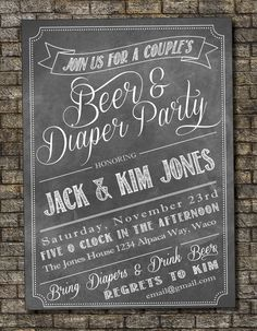 beer garden invitations   Request a custom order and have something made just for you.
