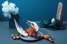 Noma's food is an art form in itself, but creating still lifes adds a real sense of drama