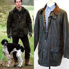 Green BARBOUR GAMEFAIR WAX Jacket Men's UK Sz 40 #Barbour #BasicJacket