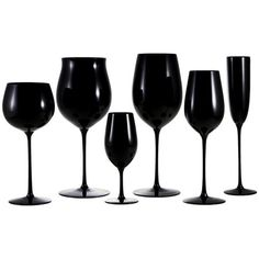 We Found a Find: Black Out Glassware