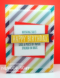 CTC160, Brithday Wit, Stitched Shape framelits, Bubbles & Fizz DSP - Caseing the Catty Design team member - Rebecca Scurr - Independent Stampin' Up! demonstrator - www.facebook.com/thepaperandstampaddict