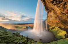 Enchanted Waterfall Italy by Aimee Baldridge