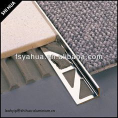 carpet to tile transition strips lowes - Google Search