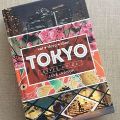 Tokyo Style Guide Tokyo Style, Tokyo Fashion, Eat Sleep, Guide Book, Book Review, Style Guides, Helpful Hints, Reading, Libros