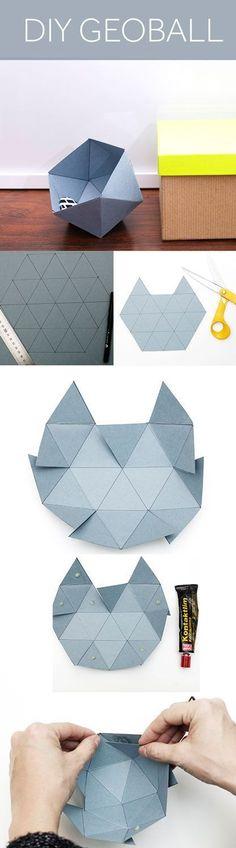 46 ideas origami paper design inspiration for 2019 Instruções Origami, Origami And Kirigami, Origami Paper Art, Diy Paper, Origami Design, Oragami, Origami Dress, Papier Diy, Ideias Diy