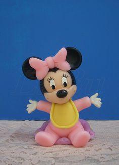 Resultado de imagen para mini mouse bebe en porcelana fria