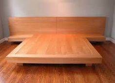 Image result for how to build a king size platform bed More
