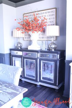 How To Make Mirrored Furniture With Contact Paper