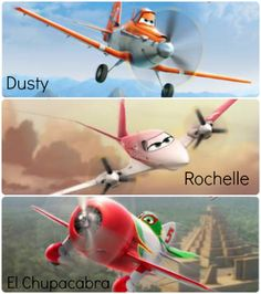 Disney's Planes hitting theaters this summer.  Talented voice cast #DisneyPlanes