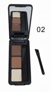 Тени для бровей Chanel 3 Color Eyebrow Powder Тон 02  Палетка теней для бровей Chanel Eyebrow Powder Тон 02 поможет сделать яркие и выразительные бровки. При этом выглядеть все будет очень естественно.  Наносятся сухим и влажным способами.  С этими тенями Вы навсегда забросите карандаш для бровей.  http://duxi250.ru/products/teni-dlya-brovej-chanel-eyebrow-powder-ton-02