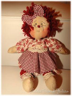 Ateliê Sarah Julião: boneca