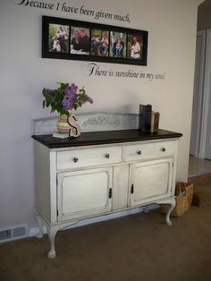 Amazing Dresser Buffet Makeover Tutorial from Making it Homey