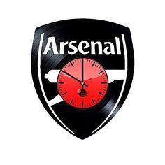 Arsenal Football Club Handmade Vinyl Record Wall Clock Fu... https://www.amazon.com/dp/B01DIY1B1G/ref=cm_sw_r_pi_dp_Z-fHxb6ST01SC