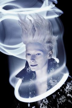 W Mag Korea - Sølve Sundsbø by Digital Light Ltd, via Behance