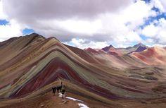 Vinicunca, montanhas coloridas, Peru