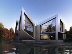 The D*Haus Company, an architectural design firm launched by UK-based designers David Ben Grünberg and Daniel Woolfson, has conceptualized an experimental house called D*Dynamic that is able to reconfigure itself into eight different shapes.