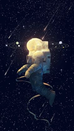 Creative Space: Illustrations and Photos Cosmos, Illustrations, Illustration Art, Astronaut Illustration, Muse Kunst, Inspiration Artistique, Muse Art, Grafik Design, Amazing Art