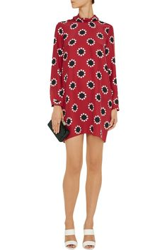 Matthew WilliamsonPrinted silk dress