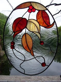 Leaves by Renaissance Glassworks