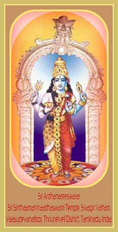 Vasudevanallur Ardhanareeswarar Dharshan | ANJU APPU