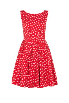 Abigail dress in Scarlett Heart