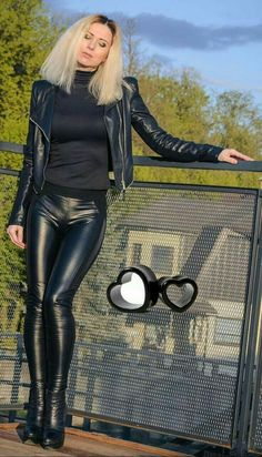 1b7516edc8f Lederlady ❤. Brett Redfearn · Outfits featuring leather pants