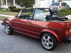 1982 Volkswagon Rabbit.  I wanted a white one so bad in high school.