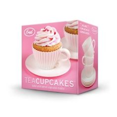 Fred & Friends Teacup Cakes Cupcake Mold cute for a tea party.  $11.85 on amazon