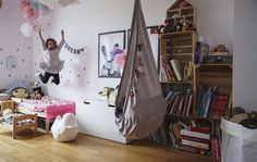 A happy kid's bedroom for a four-year-old child