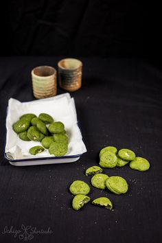 Matcha Green Tea Soft & Chewy Cookies | Ichigo Shortcake