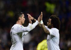 Cristiano Ronaldo & Marcelo. - Real Madrid