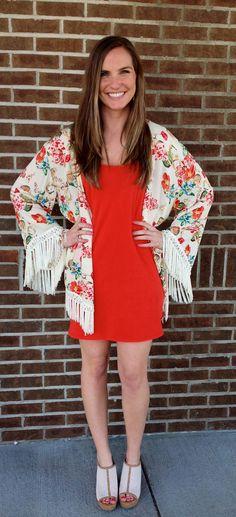 Others Follow kimono, Dolce Vita wedges, Others Follow dress
