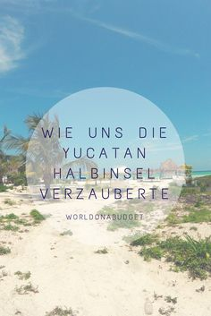 Die #Yucatan Halbinsel in #Mexiko zog uns sieben Wochen in ihren Bann. #Mayaruinen, #Karibikstrände, #Kolonialstädte, #Streetart, #Cenoten, #Schnorcheln mit #Schildkröten, um nur einige der dort angebotenen #Sehenswürdigkeiten zu nennen. Zudem ist die #Halbinsel sehr sicher und das #Essen einzigartig. Wer jetzt immer noch nicht dorthin will dem soll gesagt sein, dass auch die Preise durchaus für den #Backpacker Geldbeutel geeignet sind. Verzaubernd! #Reisebericht
