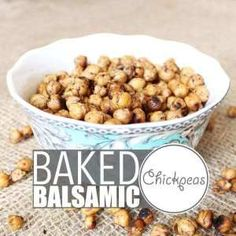 """Chickpeas are crazy versatile and so is my """"world famous"""" baked chickpeas recipe. Eat them warm out of the oven, as a cold snack, with salad, pasta or rice! Chickpea Recipes, Veg Recipes, Dog Food Recipes, Chickpea Snacks, Vegan Gravy, Food Categories, Nutritious Meals, I Love Food"""