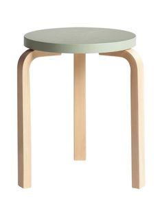 Artek 60-jakkara - Artek - Stockmann.com Alvar Aalto, Nordic Design, Scandinavian Design, Design Shop, Stackable Stools, Modern Stools, Small Tables, Bar Chairs, Modern Contemporary