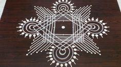 margazhi kolam designs with 7 to 1 dots Rangoli Designs Simple Diwali, Rangoli Designs Flower, Free Hand Rangoli Design, Rangoli Border Designs, Small Rangoli Design, Rangoli Ideas, Rangoli Designs With Dots, Rangoli Designs Images, Rangoli With Dots