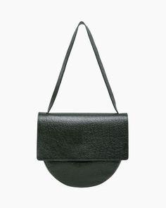 MM6 by Maison Martin Margiela | Front Flap Circle Bag | La Garçonne