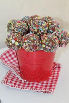 Cake Pops Amande et Fraise