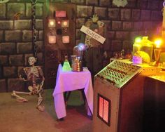 The Haunted Laboratory - Halloween Forum