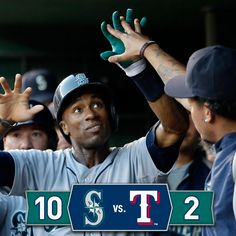 #Mariners take series opener in commanding 10-2 rout of the #Rangers. 9/4/14