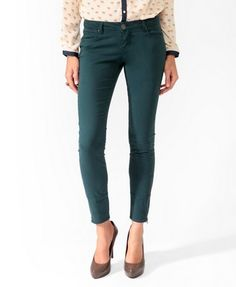forever 21. In my other pants it says I'm a 28, so get me a size 28 in these. I like the green color like the picture.
