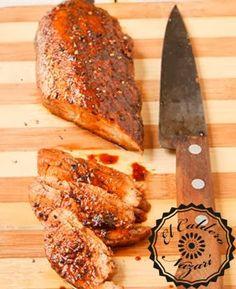 ElCalderoNazari: Carnes de cerdo. Solomillo de cerdo agridulce