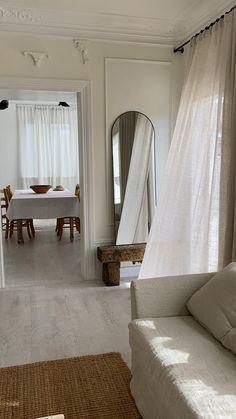 Calm and collected Cafe Interior Design, Interior Architecture, Beige Wallpaper, Parisian Apartment, Country Farmhouse Decor, Parisian Style, Home Decor Styles, Room, Furniture