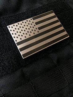 "2x3"" Grade 2 Titanium USA Flag Velcro Morale Patch Precision Laser Inscribed Empire Tactical http://www.amazon.com/dp/B00P468IRW/ref=cm_sw_r_pi_dp_XZKxub108DX4B"