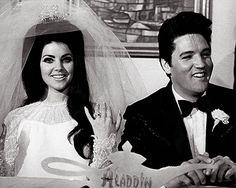 Priscilla and the King, the epitome of 60's glam